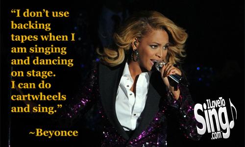 Singsational Quotes: Beyonce